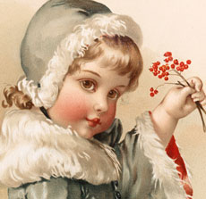 Gorgeous Vintage Berry Girl Download!