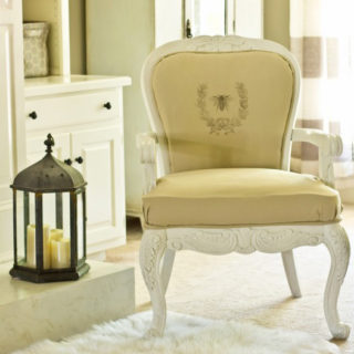 DIY French Chair with Graphic – Reader Feature