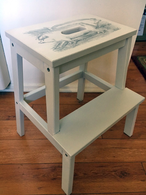 Fabulous Step Stool Reader Feature The Graphics Fairy Gmtry Best Dining Table And Chair Ideas Images Gmtryco