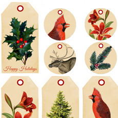 11 Free Holiday Printables!