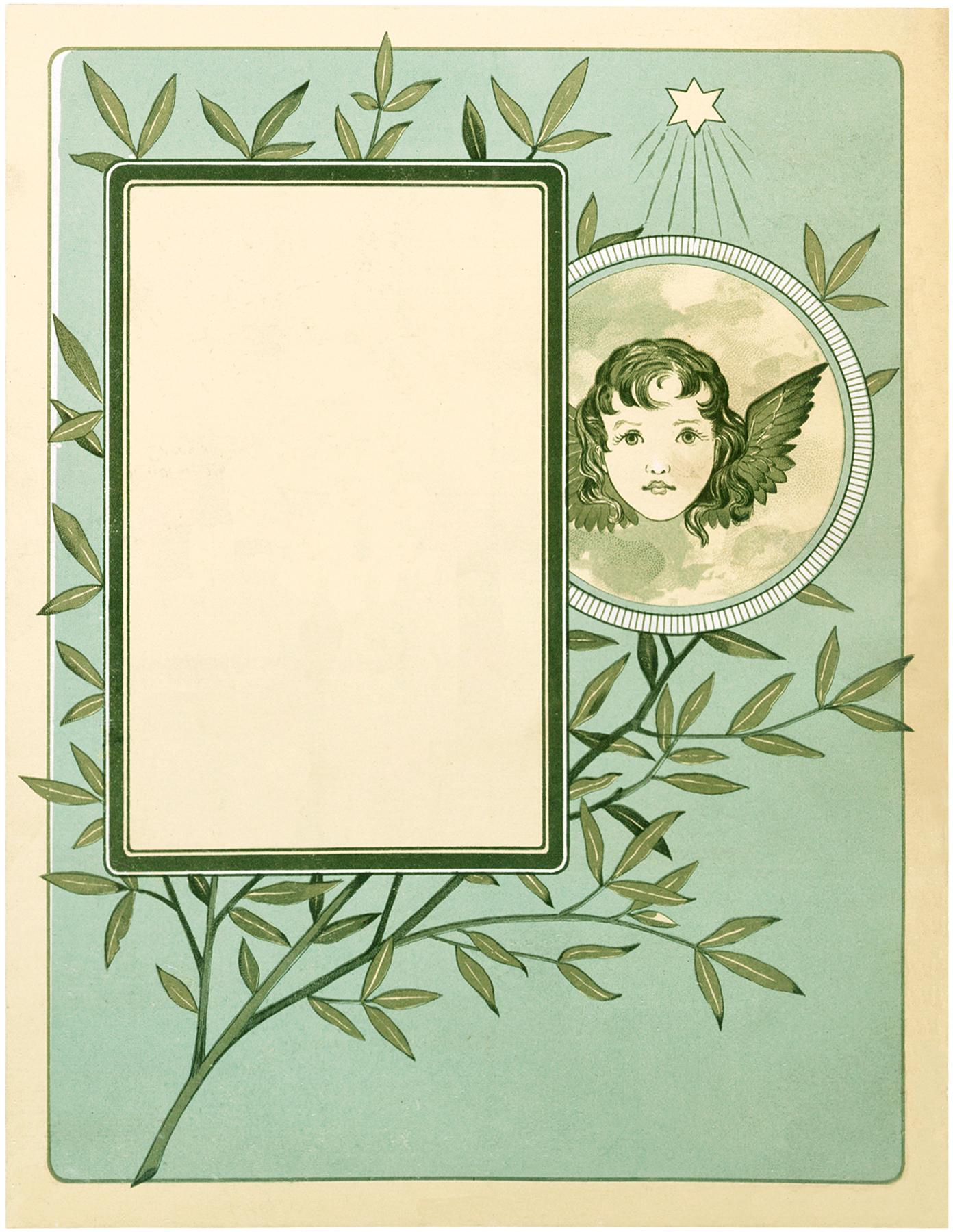 Vintage Angel Label Image