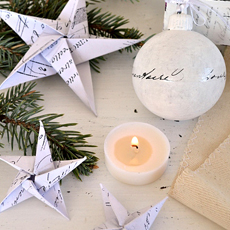 DIY French Paper Stars – Dreams Factory Printables!