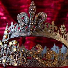 DIY Faux Metal Crowns! Elegant Grunge Technique!