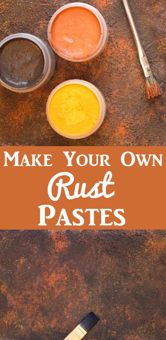 DIY Rust Pastes