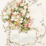 Floral Calendar Image
