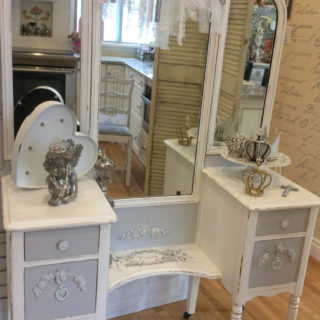 Cherub Antique Vanity – Reader Feature