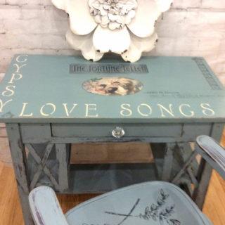 Sweet Gypsy Love Songs Desk – Reader Feature