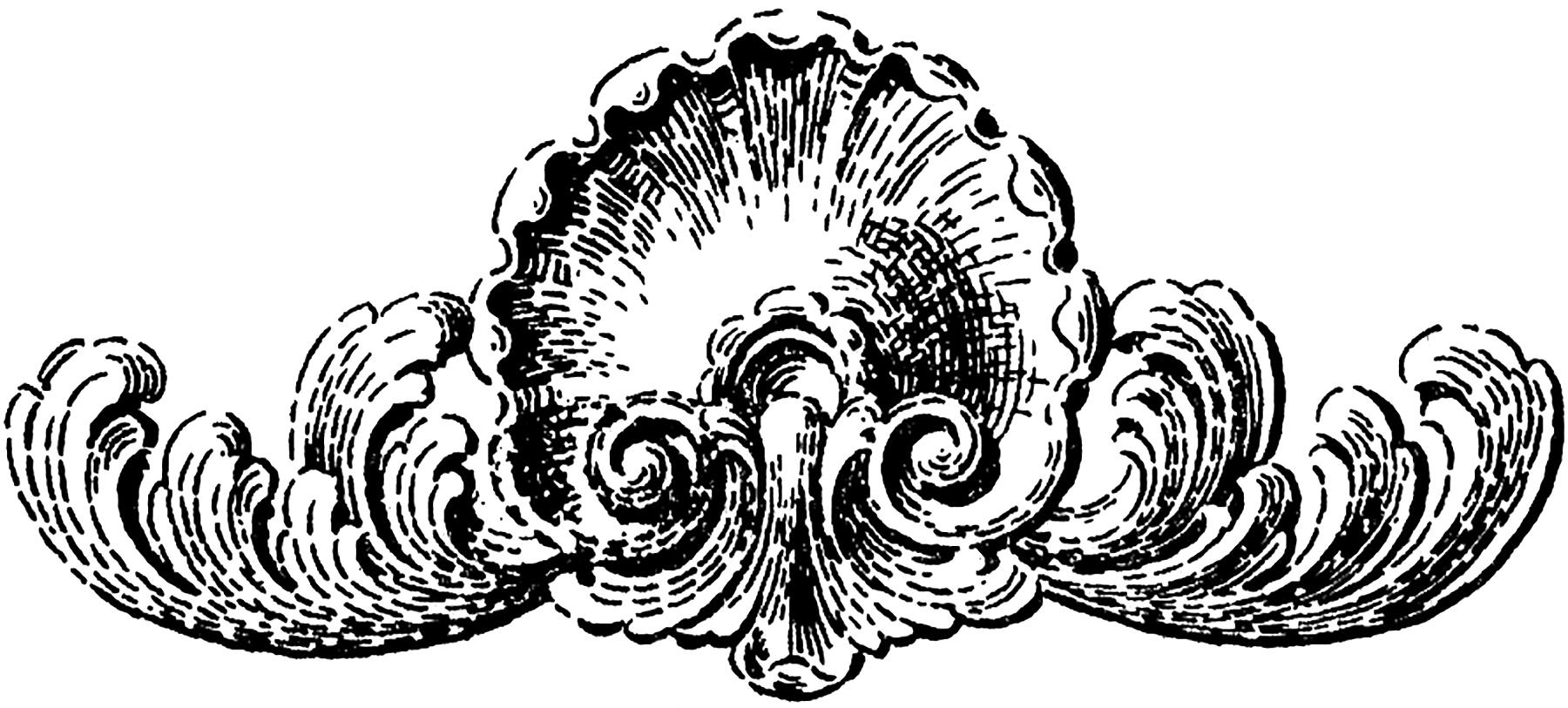 Seashell Embellishment Image
