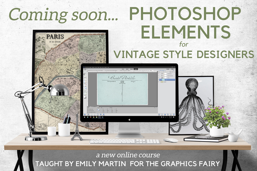 eCourse Vintage Design