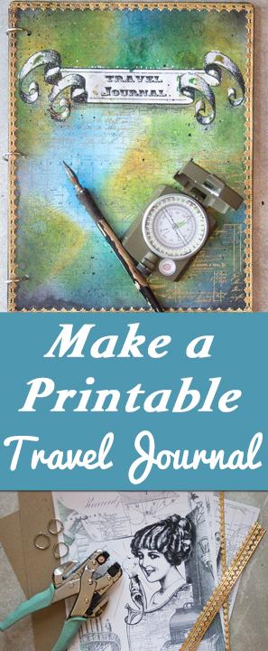 Make a Printable Travel Journal