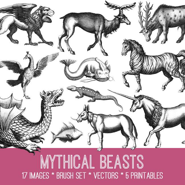 Mythical Beasts Image Kit