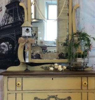 Paris Aged Mirror Dresser – Reader Feature