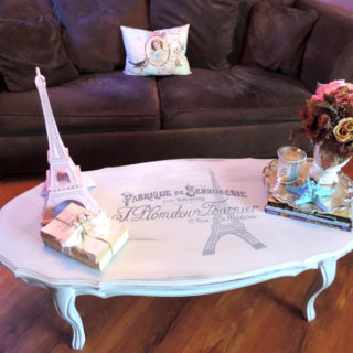 A Paris Inspired French Provincial Coffee Table – Reader Feature