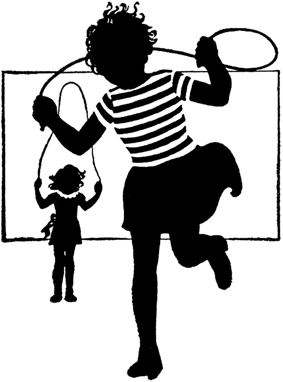 Retro Jump Rope Image