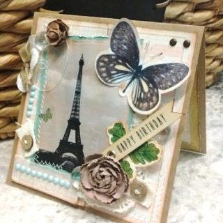La Tour Eiffel Shabby Chic Birthday – Reader Feature