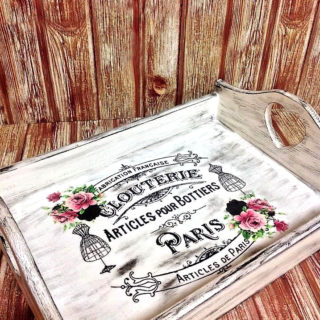 Shabby Chic Tray – Reader Feature