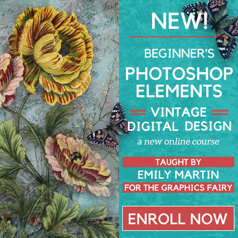 PSE Vintage Digital Design eCourse