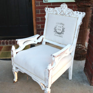Eastlake Chair Makeover – Reader Feature