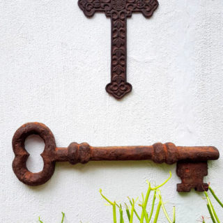 The Making of a Giant Rustic Key From Faux Metal – Reader Feature