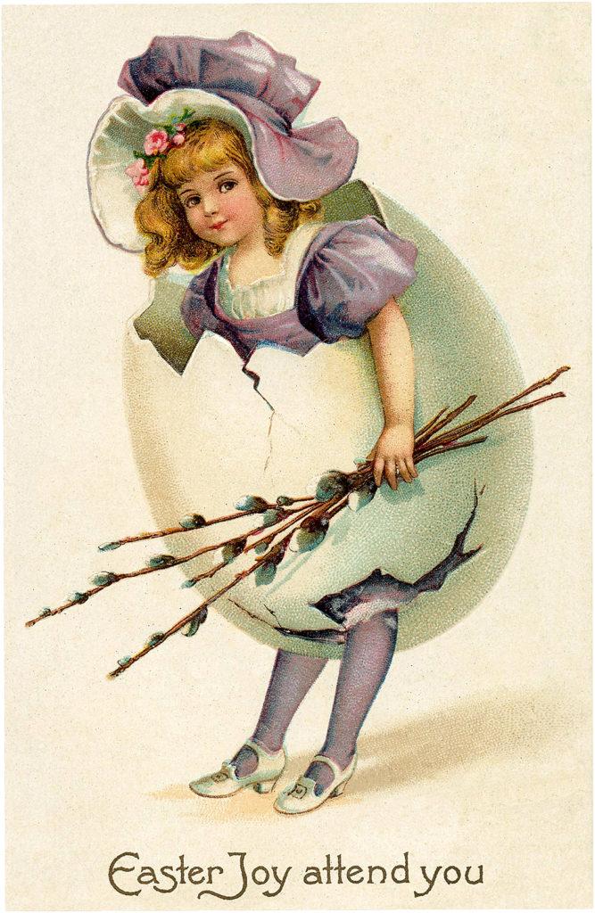 Victorian Egg Girl Image
