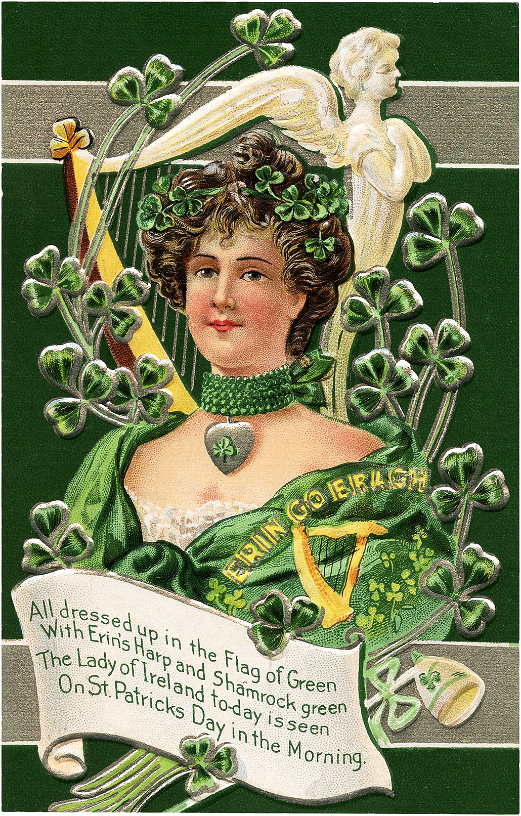 Vintage Lady of Ireland Image
