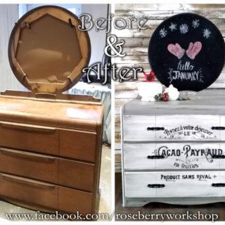 Vintage Dresser Gets Vintage Front! – Reader Feature