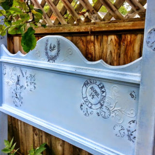 French Blues Headboard – Reader Feature