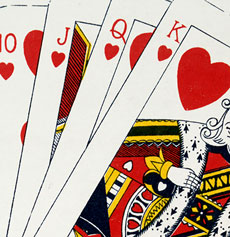 Antique Playing Cards Image
