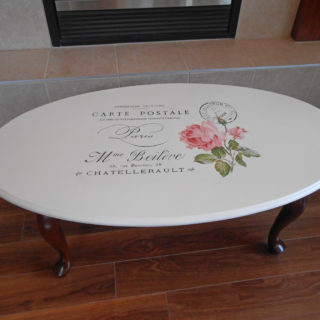 Shabby French Roses Table – Reader Feature