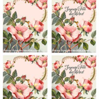 Vintage French Shabby Chic Mother's Day Cards – Reader Feature