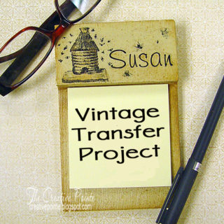 Vintage Style Note Holder – Reader Feature