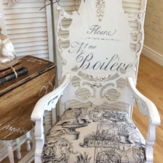 French Flower Seller Rocking Chair – Reader Feature