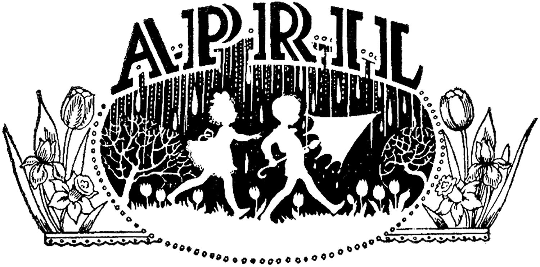 Vintage April Image