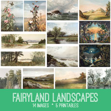 Fairyland Landscapes Kit – Graphics Fairy Premium Membership!