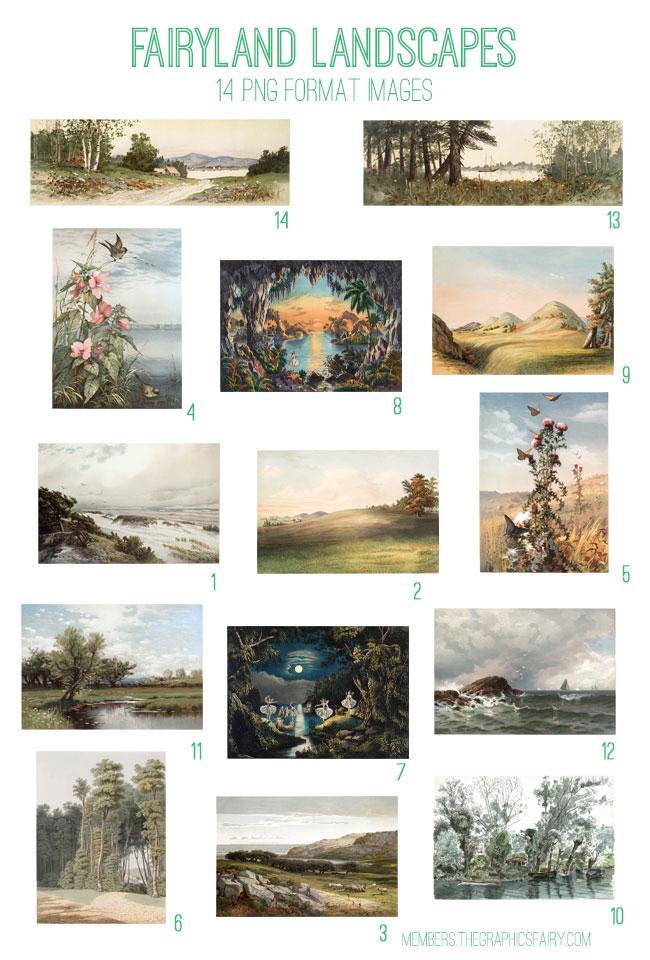 Fairyland Landscapes Kit