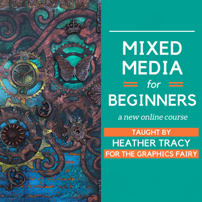 10 Best Mixed Media Techniques The Graphics Fairy