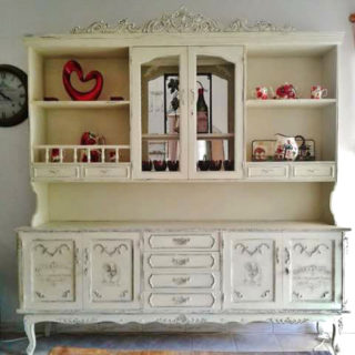 French Chiffonier Makeover – Reader Feature