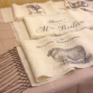Burlap Table Runners – Reader Feature