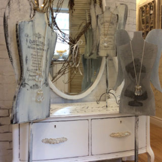 Dresser and Dress Forms With Angel Wings – Reader Feature