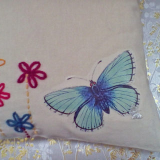 Butterfly and Floral Tote Bag – Reader Feature