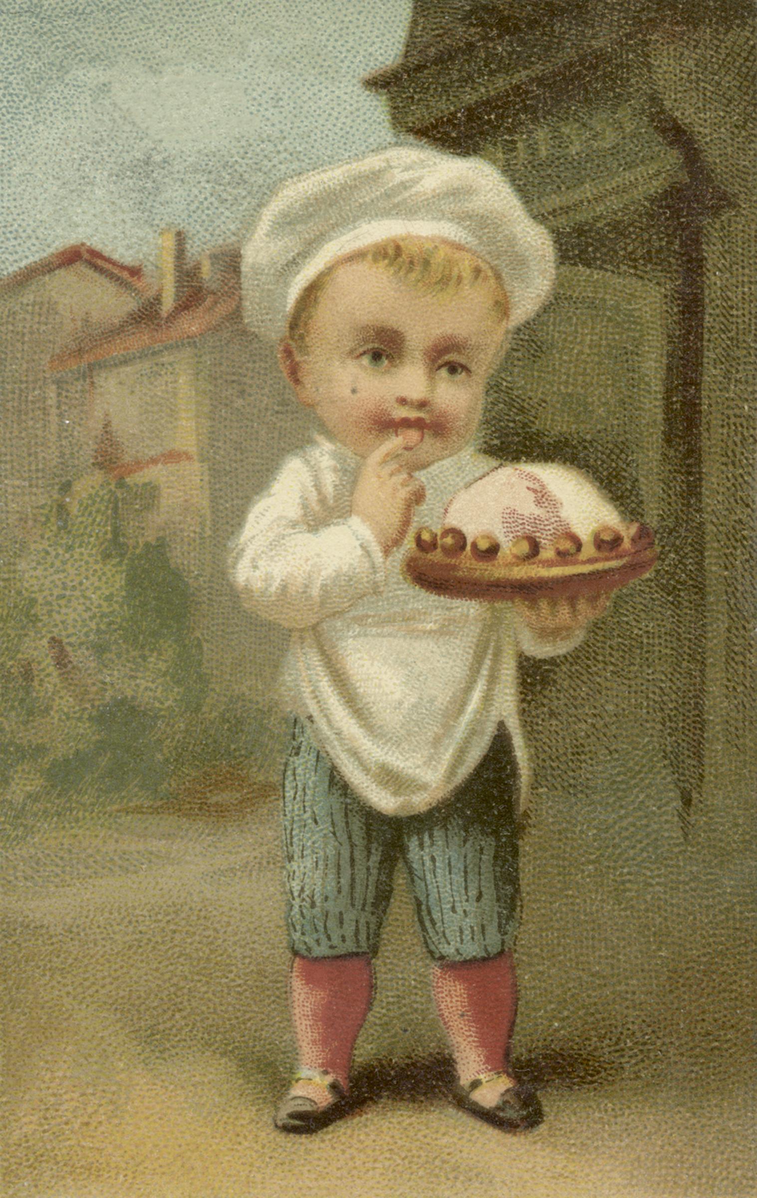 Adorable Vintage Boy Image
