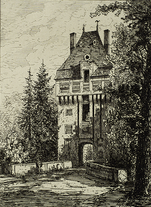 Vintage House With Tunnel Image