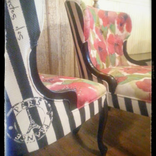 French Poppy Chairs – Reader Feature