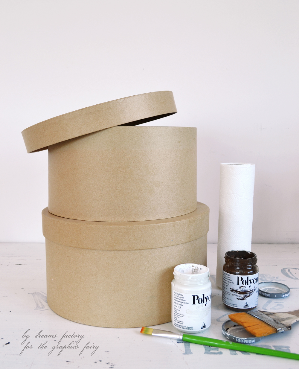 Acrylic Hat Boxes : Diy antique french hat boxes project free printable