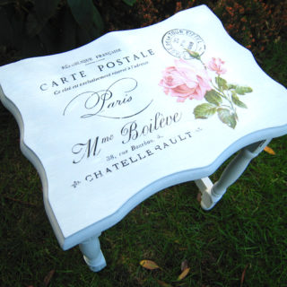 Shabby Chic Side Table – Reader Feature