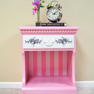 Pretty In Pink Nightstand – Reader Feature