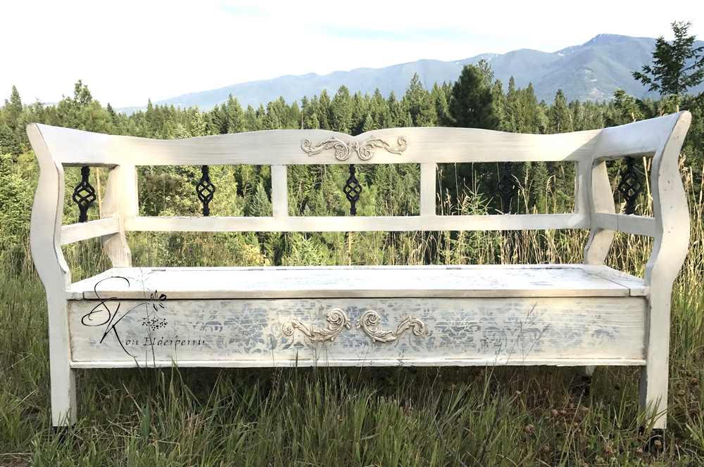Save. Todayu0027s Reader Feature Is This Beautiful Old Wood Bench ...