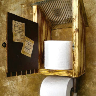 A Recycled Tin Can Becomes An Outhouse – Reader Feature