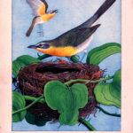 Vintage Yellow Bird Printable