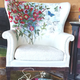 Wild Wood Roses Chair – Reader Feature